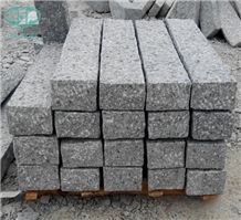 G601 Granite Pineappled Kerbstone, Light Grey,China Grey Granite, Natural Pavers, Granite Kerbstone for Landscaping Kerbstone/Building Stones/Road Stone/Paving Stone/Granite Paving Sets