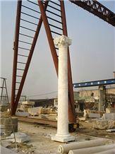 Bianco Carrara Architectural Columns for Project