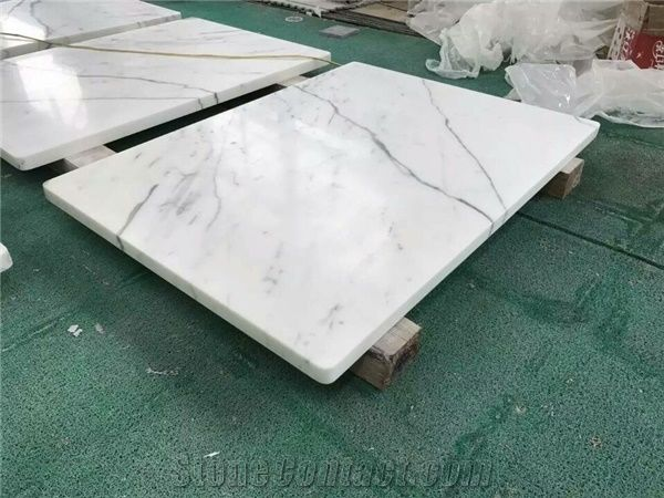 Superieur Calacatta White Marble Table Top,White Marble Round U0026Square Table Top, Polished White Marble Coffeeu0026Tea Table Top