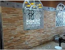 Slate Walling Cultured Stone,Outdoor Multicolor Slate Walling Decoration