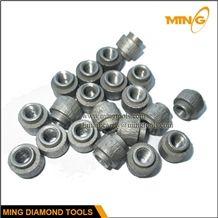 11.0mm 11.5mm Diamond Wire Saw Beads