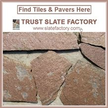 Desert Gold Wall Quartzite Pavers, California Gold Flooring Quartzite Backsplash, Mongolia Desert Wall Quartzite Pattern