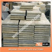 Golden Honey Decking Tiles, Cheap Price Golden Beige Quartzite Swimming Pool Coping, Beige Color Pool Edges Surround