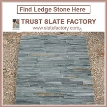 Himalaya Quartzite Capping Stone Coping Stone, Black Quartzite Paving , Himalaya Quartzite Walling