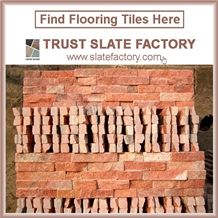 Pink Quartzite Patio Paving,Pink Natural Quartzite Flooring,Pink Quartzite Cultured Stone for Outdoor Patio