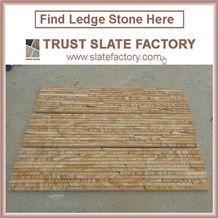 Yellow Quartzite Capping Stone,Beige Quartzite Patio,Desert Quartzite Walling