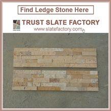 Yellow Quartzite Capping Stone, Desert Quartzite Flagstone, Sunshine Quartzite Patio