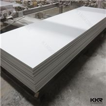 12mm Pure White Acrylic Slabs Solid Surfaces for Table Top