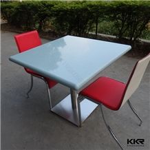 Acrylic Solid Surface Stone Table / Ultra Modern Cuctom Design Dining Room Tables 2/4/6 Seaters