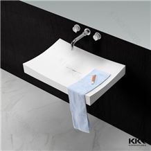 Acrylic Solid Surface Wash Basin Bathroom Sink Price Wholesale China Manufacturer