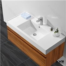 China Artificial Stone Corian Solid Surface Customized Countertop and Cabinet Wash Basin Price for Bathroom and Hotel