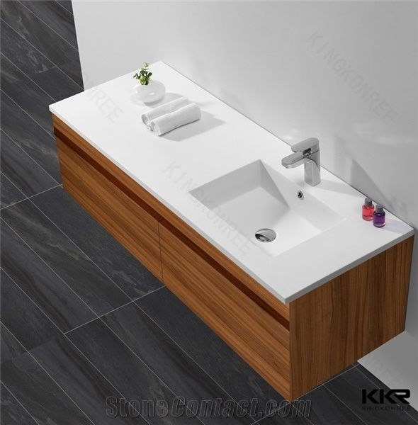China Manufacture Wholesale Bathroom Sink Cabinets Storage Furniture Bathstore Corian Acrylic Cabinet Wash Basin From China Stonecontact Com