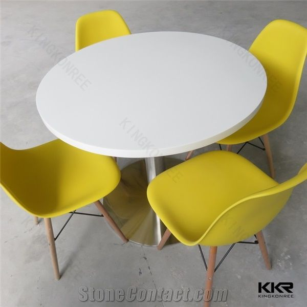 Factory Cheap Price Latest Solid Surface Restaurant Dining Table And - Restaurant table price