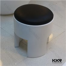 Kingkonree Customized White and Black Bathroom Stools