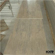 Kkr Artificial Faux Stone Solid Surface Wall Pane Faux Wall Cladding Panel