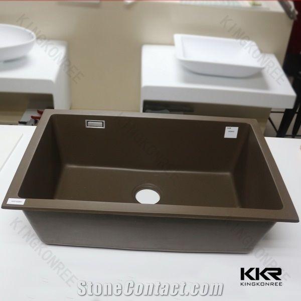 kkr platinum offset double bowl quartz