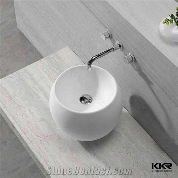 Modern Bathroom Design Quality Above Counter Mounting Art Basin Ceramic Hand Wash Sink Bowl Vanity Top
