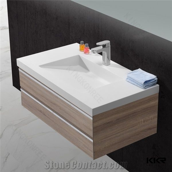 Us Popular 12 Inch Deep Acrylic Solid, 12 Inch Bathroom Sink