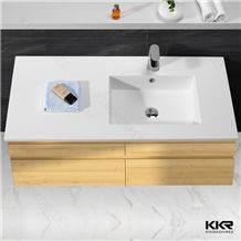 us popular 12 inch deep acrylic solid surface manmade stone bathroom vanity and sink from china. Black Bedroom Furniture Sets. Home Design Ideas