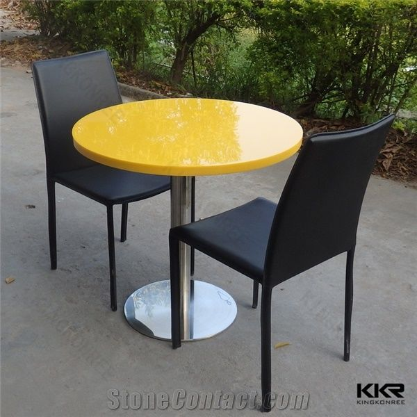 Yellow Green Coffee Tables Furniture Solid Surface Office