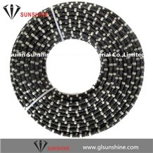11.5mm Diamond Wire for Marble Quarrying, Marble Blocks Squaring