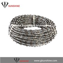 11.5mm Fast Cutting Diamond Wire for Marble Quarries