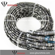 11mm Fast Cut Marble Quarry Diamond Wire Saw