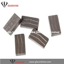 1200mm 1600mm 2200mm 2500mm Diamond Blade Segments for Granite Block Cutting