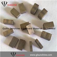Diamond Segments for Granite Blocks Cutting Granite Edge Cut