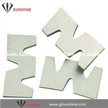 Granite Cutting High Efficiency Diamond Saw Blade Diamond Segments