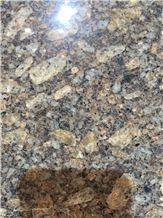 Rome Golden Diamond Grain Granite Tiles & Slabs, Imported Granite Tile & Slab