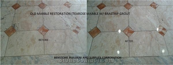Old Marble Flooring Restoration from Philippines