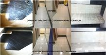 Tile Cleaning and Restoration