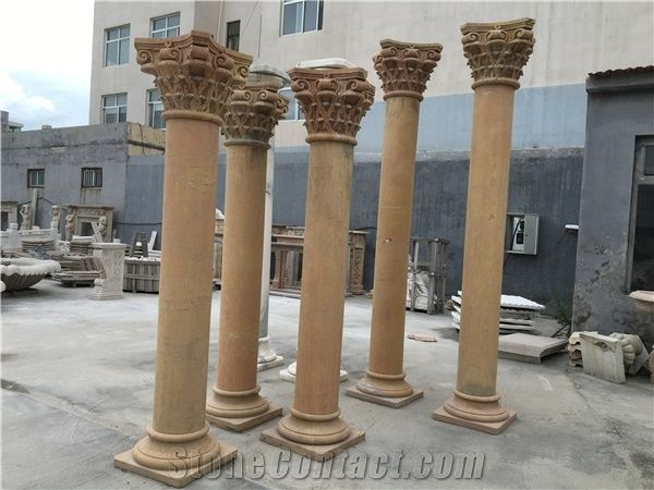 Cheap Roman Marble Columns For Sale From China