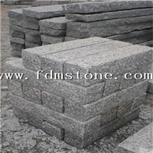 Cheap G602 Light Grey Granite Stone Bushhammerd Pineappled Palisade for Garden,Japanese Style Pillars/ Garden Palisade,Exterior Stone/ Landscaping Stone
