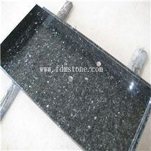 China Emperald Pearl Granite Polished Bathroom Kitchen Countertop,Vanity Top,Bar Top,Island Top,Bullnosed Desk Tops,Curved Bench Tops,Work Top