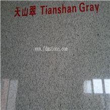 ChinaTian Shan Gray Granite Polished&Flamed Floor Tiles,Walling Tiles