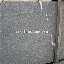 Dark Granite Flamed with White Line,Amazon Black Granite Slabs & Tiles