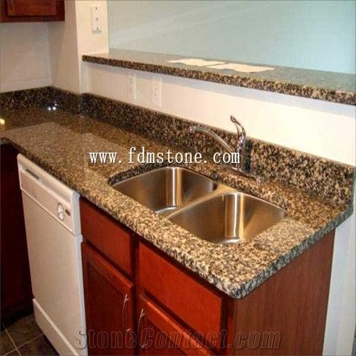 Leopard Skin Granite Polished Bathroom Kitchen Countertop