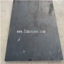 Polished Black Limestone Paver Floor Tiles,Grey Limestone Honed over Hanging Flooring Paving