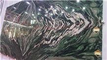 Verde Lapponia Quartzite Stone, Green Seawave Quartzite Stone Slabs, Green Dragon Quartzite Slabs and Tiles, Luxury Stone Slabs, Green Exotic Stone Slabs