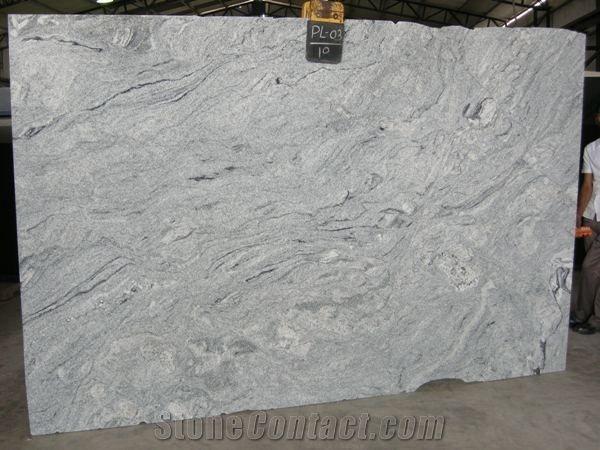 Custom Superior Quality River White Granite Stone Slabs