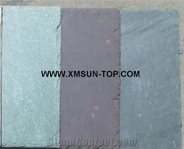Chinese Green Black Grey Rectangle Roof Slate Tile/Slate Roofing