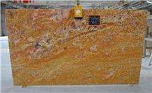 Imperial Gold - Golden Oak Granite Slabs
