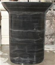 Wash Basin Best Selling Commercial Wash Basin Buyer Price Black Wood Grain
