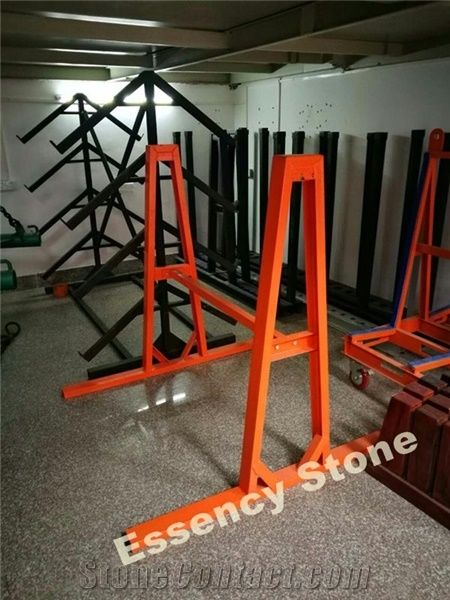 New Style Detachable Steel A Frame For Stone Slab Display