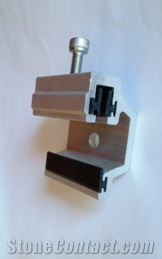 Aluminium Stone Fixing System Aluminium Bracket Stone