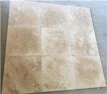 Cappuccino Travertine Tiles Honed Filled Cross Cut
