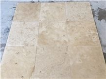 Commercial Light Classic Travertine Honed Filled Cross Cut