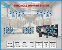 Sink Hole Support System Ausavina, Slab Holding Tool, Stone Equipment, Granite, Marble, Stone Tool, Countertop Tool, Slab Clamp